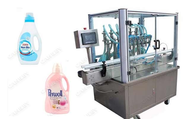 Automatic Filling Machine For Liquid Detergent Bottles On Sale