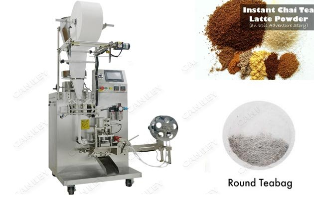 Round Tea Bags Packaging Machine|Coffee Pod Packaging Machine Price