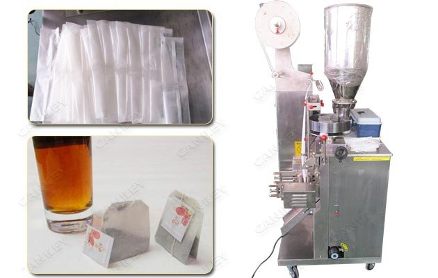 Commercial Double Chamber Tea Bags Packaging Machine CKYD-12