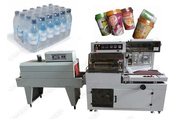 Automatic Shrink Wrapping Machine For Bottles Factory Outlets