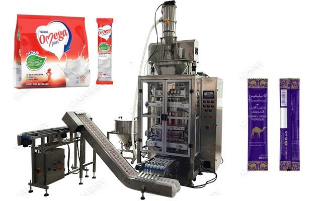 Multilanes Milk Powder Stick Filling Machine Manufacturer