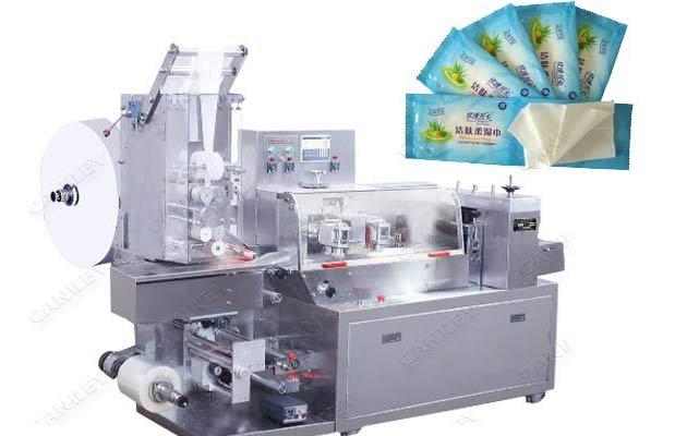 Single Sachet Wet Wipes Machine Wet Tissue Packaging Machine