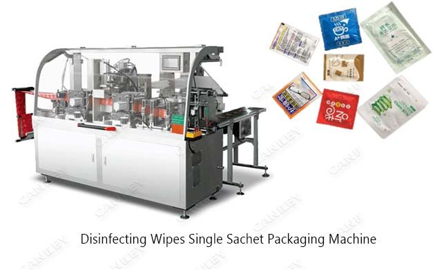 Automatic Disinfecting Wipes Single Sachet Packaging Machine