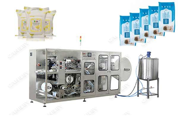 Full-automatic Wet Wipes 5-30pcs Pack Production Line