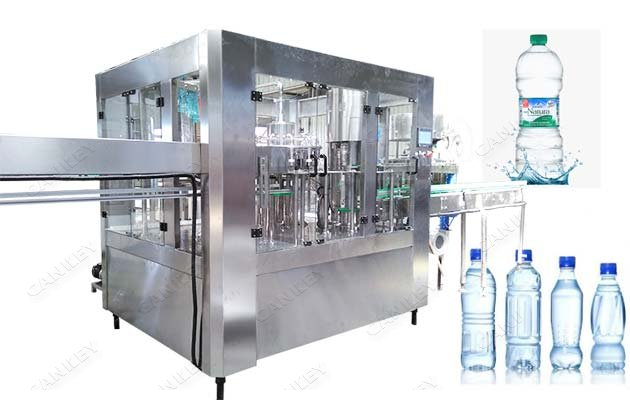 Automatic Mineral Water Liquid Juice Bottling Machine For Sale
