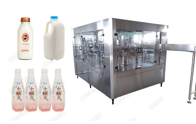 Liquid Milk & Juice Automatic Filling Capping Machine Price
