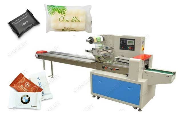 Automatic Soap Flow Wrap Machine Horizontal Packer For Sale