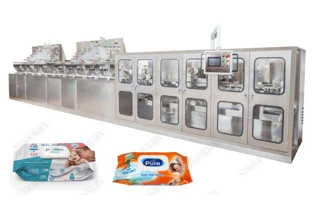 High Speed Baby Wet Wipes Making Machine Factory Price
