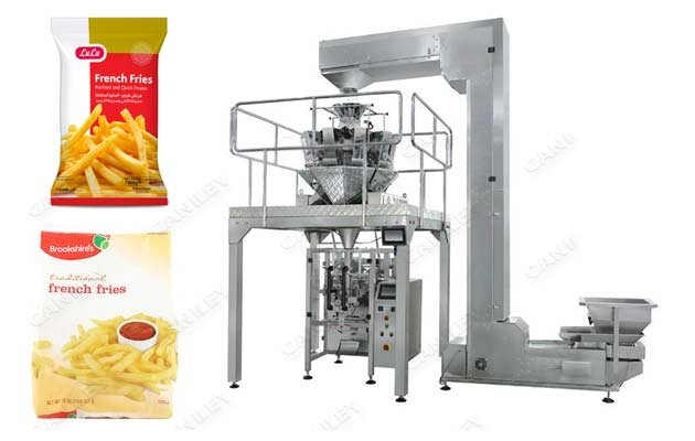 Frozen French Fries Weighing Packing Machine Price