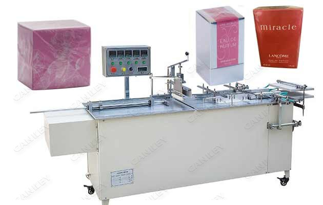 Semi-automatic Perfume Box Cellophane Wrapping Equipment CK-BTB-Ⅱ
