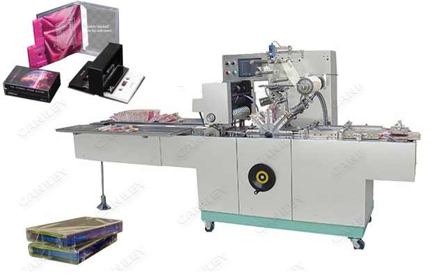 Audio Cassette Case Cellophane Packaging Equipment Price