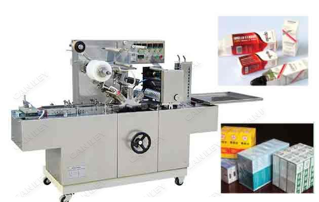 Factory Use Medicine Box Cellophane Over Wrapping Machine
