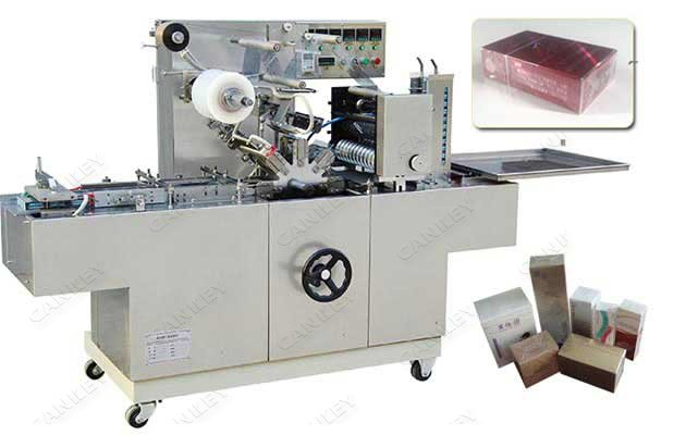 300A Automatic Cellophane Wrapping Machine For Box