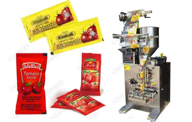 CK-300 Tomato Ketchup Sauce Sachet Packaging Machine For Sale