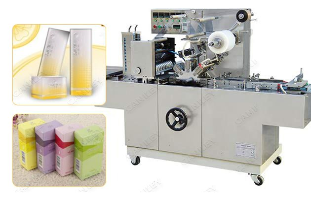 Over Wrapping Machine For Perfume|Cosmetic Box Cellophane Wrapping Machine