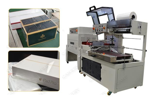 Automatic Box Heat Shrink Wrapping Machine For Sale