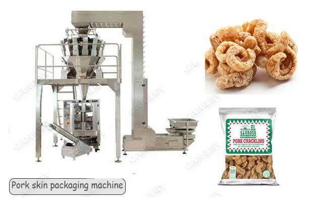 10 Head Fried Pork Skin Packaging Machine Factory Use