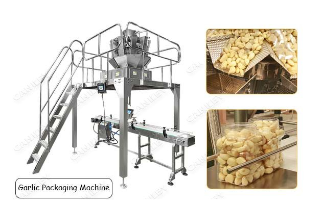 Automatic Garlic Clove Packing Machine With Multi-head Weigher