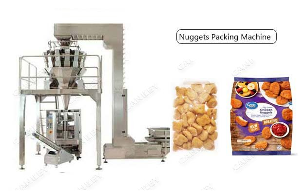 Multihead Weigher Chicken Nuggets Pouch Packaging Machine