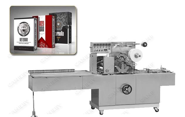 Automatic Cellophane Over Wrapping Machine For Business Card CK-BTB-300