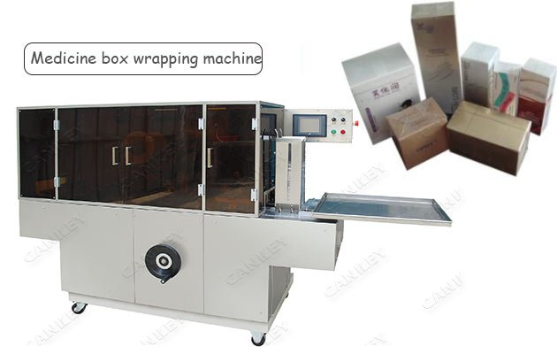 40-80 pc/min Medicine Box Cellophane Packaging Machine Supplier