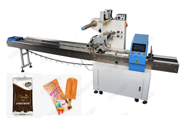 CKZS450 Ice Lolly Stick Popsicle Automatic Packaging Machine