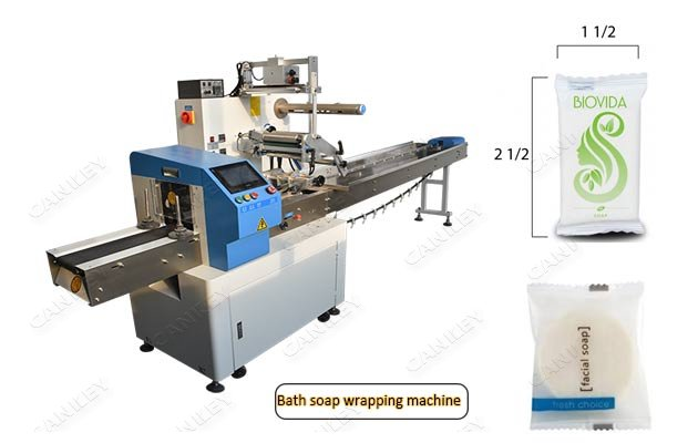 Multi-purpose Hotel Soap Flow Packaging Equipment CKZS250
