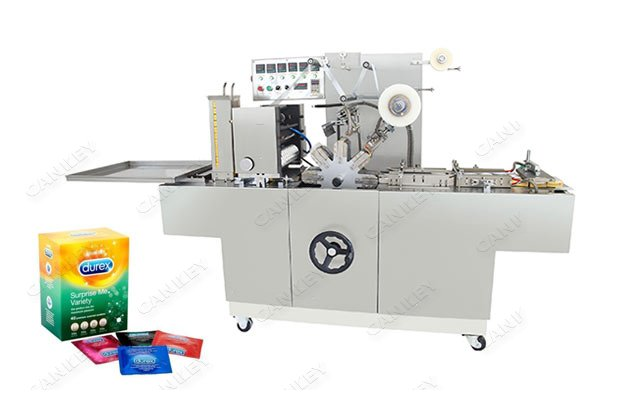 Automatic Condom Box Cellophane Wrapping Machine Supplier