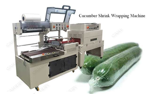 Automatic Cucumber Shrink Wrapping Machine For Sale