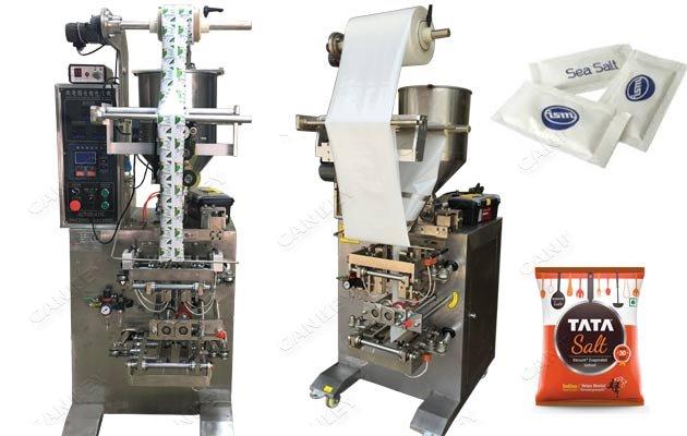 Vertical Salt Pouch Packing Machine Sugar Filling Machine Price