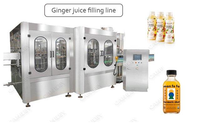 High Speed Ginger Beverage Juice Bottling Filling Plant