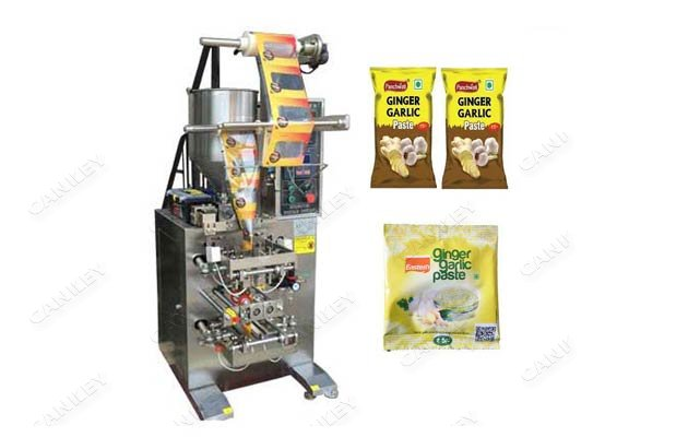 <strong>Vertical Ginger Garlic Sauce Sachet Packaging Machine For Sale</strong>