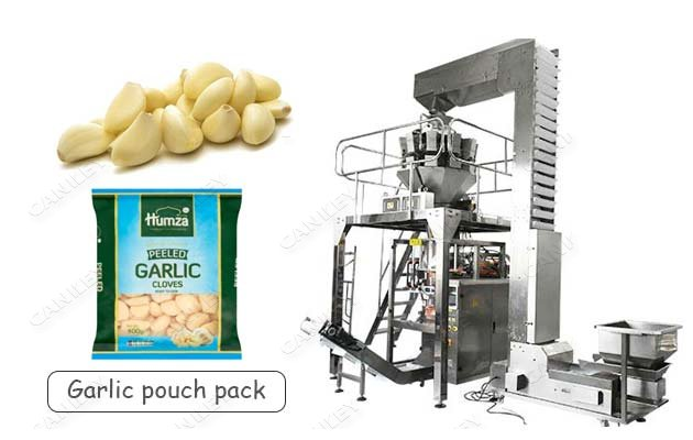Automatic Garlic Clove Packaging Line|Garlic Granule Packing Machine