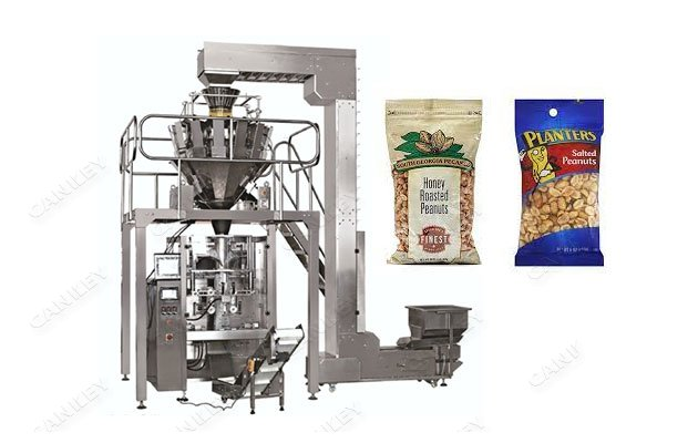Automatic Pouch Peanut Packaging Machinery With Multi-head Weigher