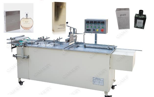 Semi-automatic Cosmetic Box Cellophane Wrapping Packing Machine Supplier