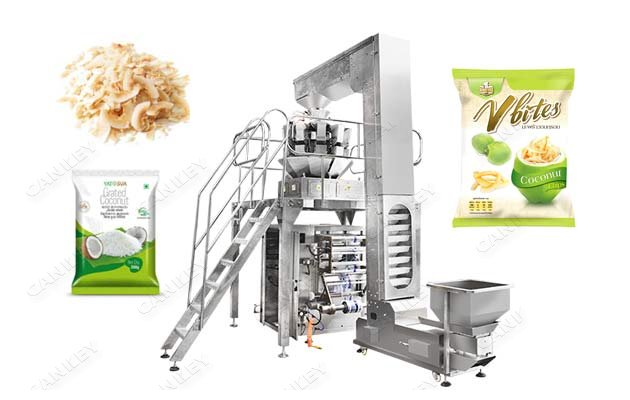 <b>Dried Coconut Flakes Coconut Snack Chips Packaging Machine Supplier</b>