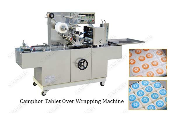 Camphor Tablet Over Wrapping Machine For Sale