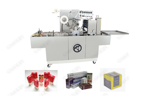 BOPP Film Cigarette Wrapping Machine With Tear Type