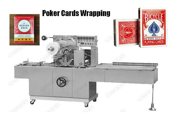 <strong>Playing Poker Cards Cellophane Wrapping Machine CK-BTB-300</strong>