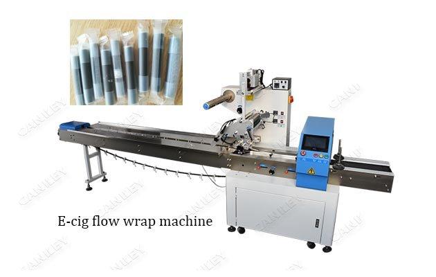 Pillow Type E-cigarette Horizontal Flow Wrap Packing Machine