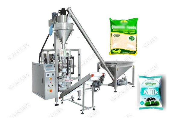 Plantain Banana Powder Corn Flour Packaging Machine For Sale