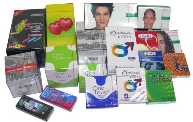 condom packaging machine