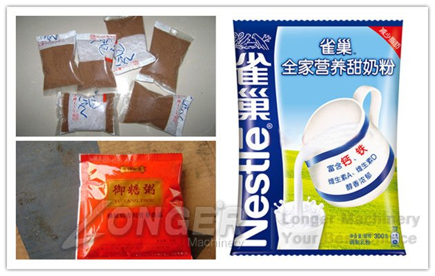 Dry Powder Pouch Packing Machine