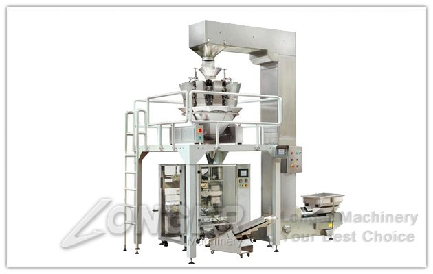 Potato Chips Pouch Packaging Machine
