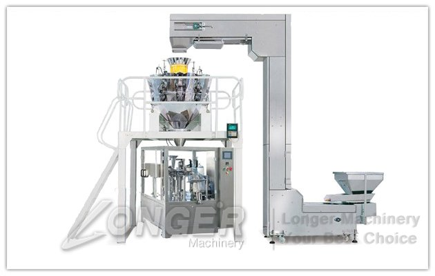 Snacks pouch packing Machine