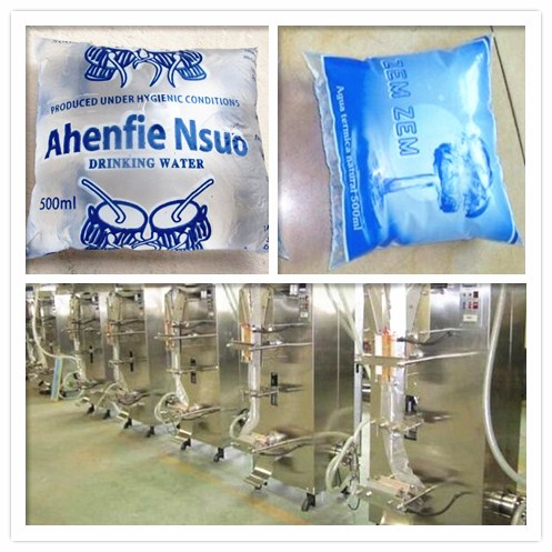 sachet water packaging machine