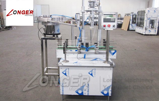 Automatic Jars Bottles Capping Machine