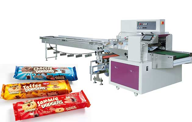 Nut Brittle Bar Packing machine