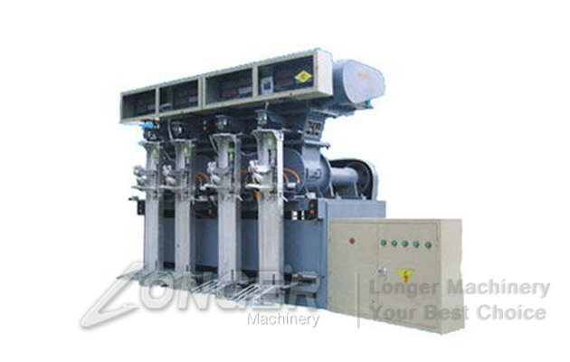 Four Mouths Cement Packaging Machine Price LG-4