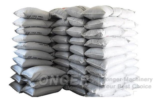 Packing cement